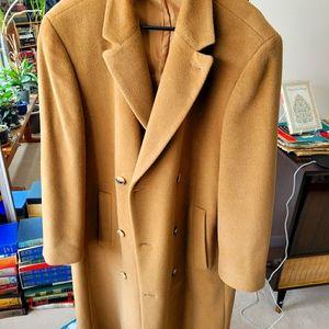 Hugo Boss Camel Full length coat
